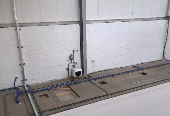 Electrical Installation in a Warehouse in Telford